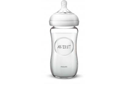Avent Natural Glass Bottle 8oz