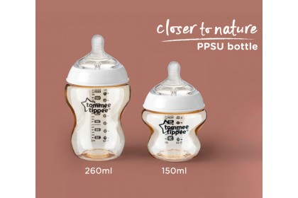 Tommee Tippee Closer To Nature PPSU 5oz/150ml Bottle Single Pack